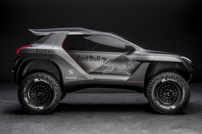 Illustration for article titled more info on Peugot's Dakar rally beasty now with MOAR TORQUES