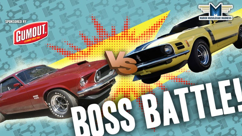 Illustration for article titled March Muscle Car Madness: Battle Of The Bosses