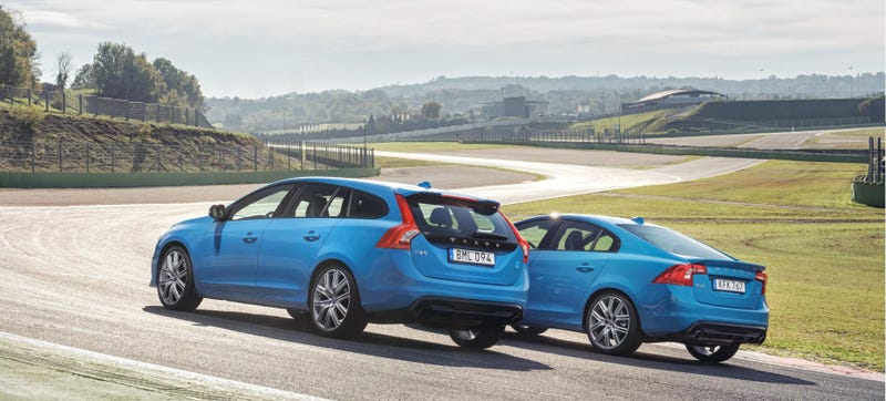 Illustration for article titled Get Ready To Blue Yourself: Volvo Polestars Get 367 HP Twincharged Four Cylinder