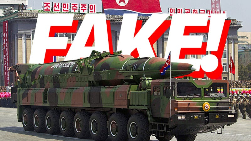 Illustration for article titled Confirmed: Those North Korean Communist Assclowns Are Pathetic
