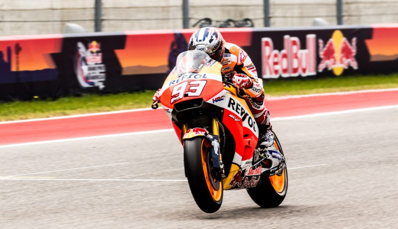The unofficial king of COTA. Photo credit: Kurt Bradley