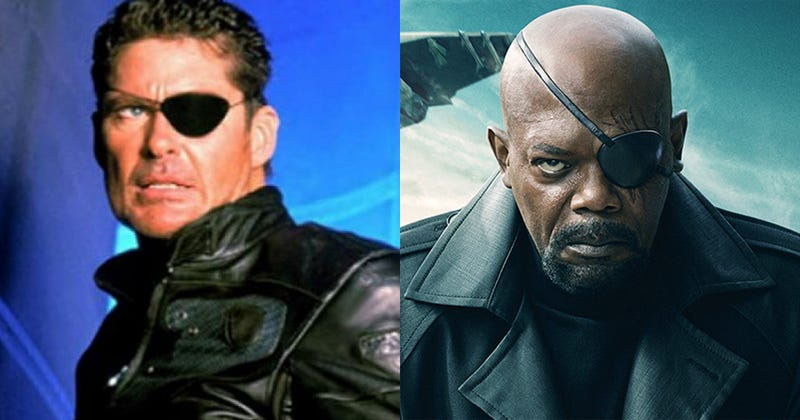 Illustration for article titled Nick Fury is white (but his son isn't)