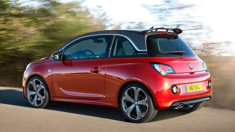 Illustration for article titled The Opel Adam S Is A 150 Horsepower Micro Abarth-Fighter