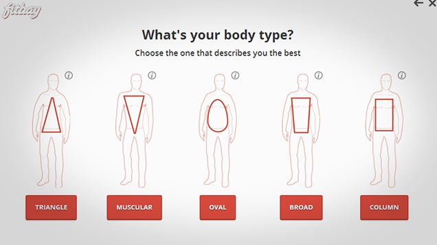 how to know which body type you are