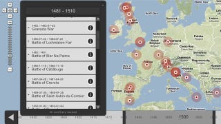 Illustration for article titled An Interactive Map With Every War Ever Waged