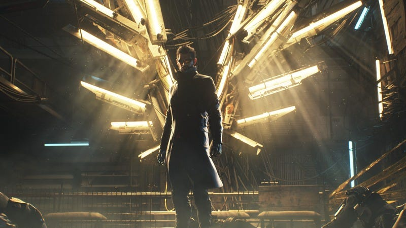 Illustration for article titled Square Enix unveils new Deus Ex game that everyone already knew about