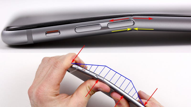 Illustration for article titled One Clever Explanation of Why the iPhone 6 Plus Might Bend