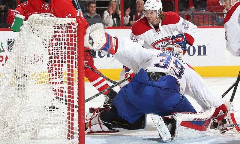 Illustration for article titled Mike Condon Somehow Saved This Shot Without Seeing It
