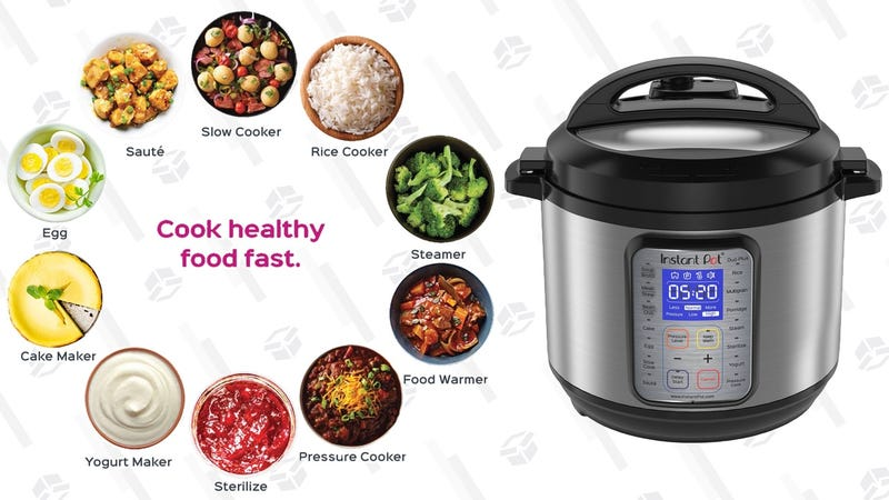 Illustration for article titled Put Dinner On Fast Forward With This Instant Pot Plus, $30 Off Today Only
