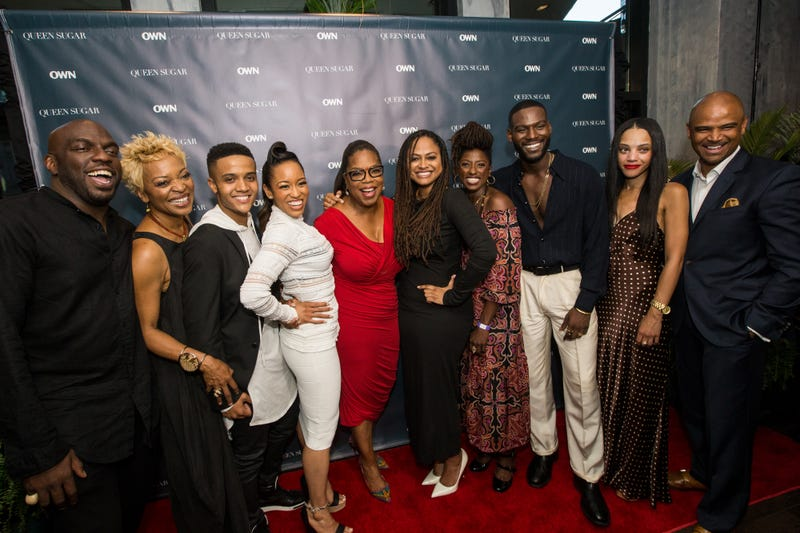 The cast and producers of 'Queen Sugar'