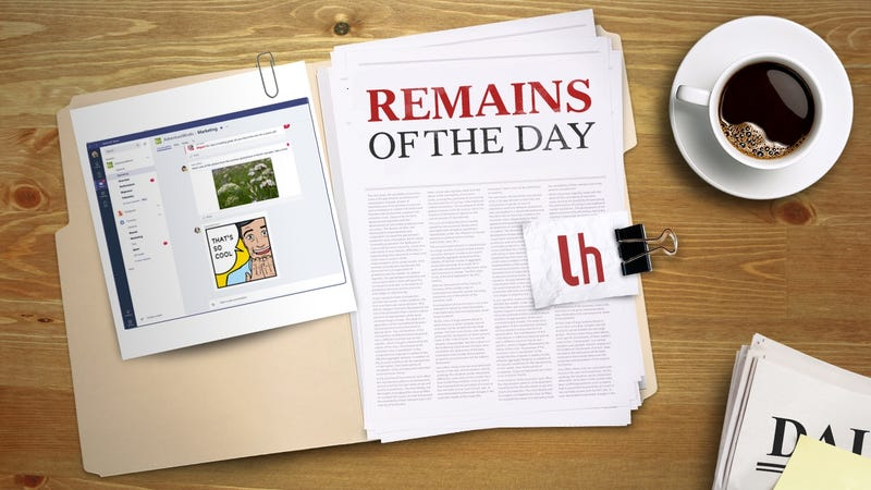 Illustration for article titled Remains of the Day: Microsoft Launches a New Chatting and Collaboration Platform