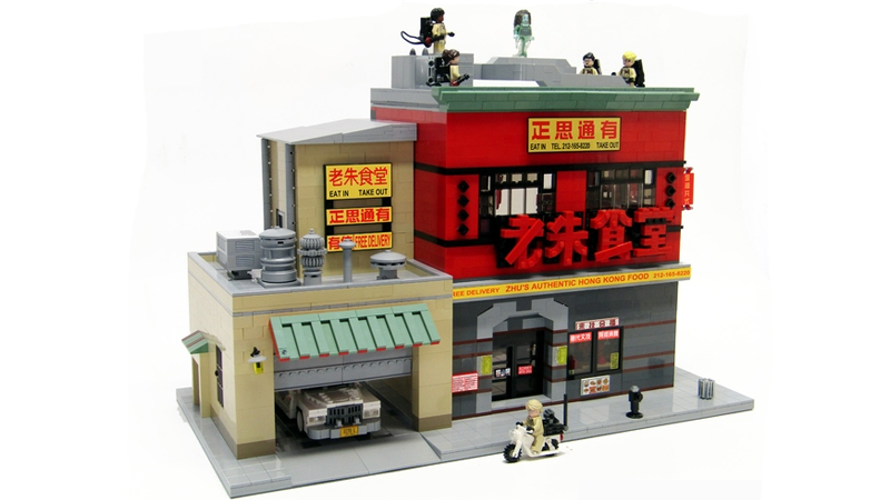 Illustration for article titled I Would Buy This New Ghostbusters HQ Set, Lego Be Willing