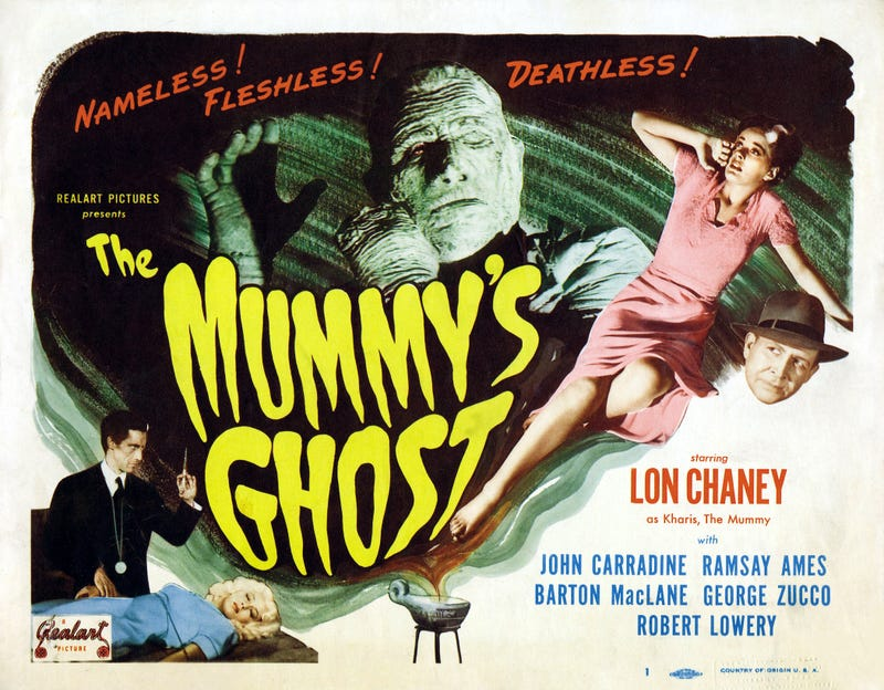 Illustration for article titled Svengoolie: The Mummy's Ghost (1944)