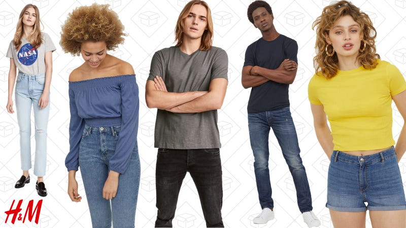 Up to 30% off denim and tees | H&M