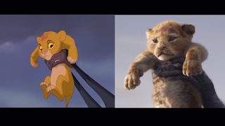 Illustration for article titled Jon Favreau's CGI Lion King movie is drab as hell when compared to the original