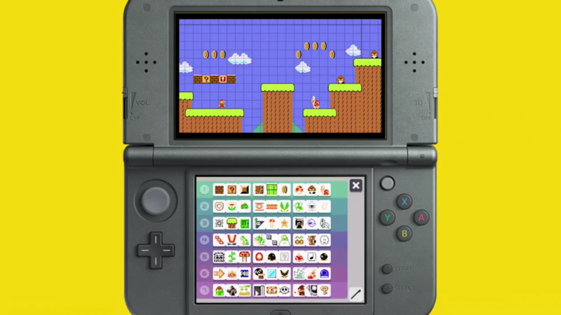 Super mario maker releasing on 3ds in december with some feature super mario maker is coming to the nintendo 3ds on december 2nd 2016 ccuart Images