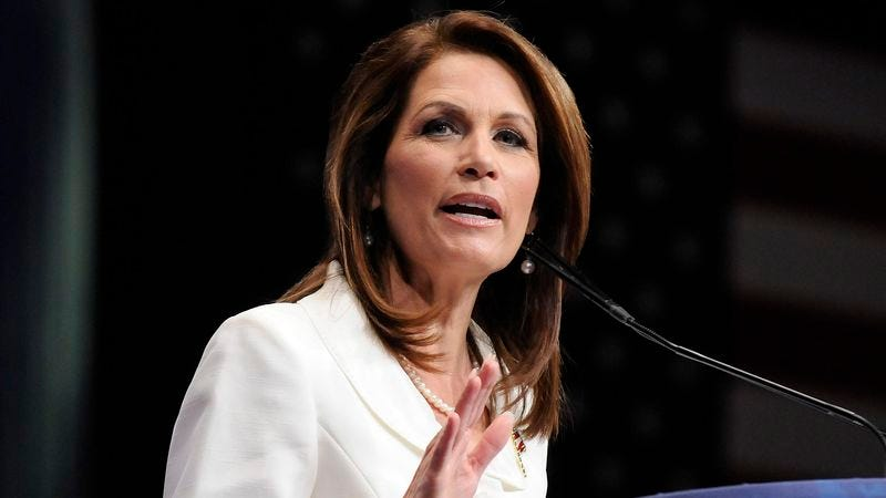 Illustration for article titled Michele Bachmann Thankful No Americans Died In Sikh Shooting