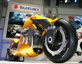 Illustration for article titled Tokyo Motor Show: Sleek Suzuki Biplane Revealed