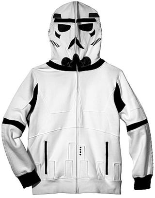 Illustration for article titled Admit It, The Stormtrooper Hoodie is a Little Tempting
