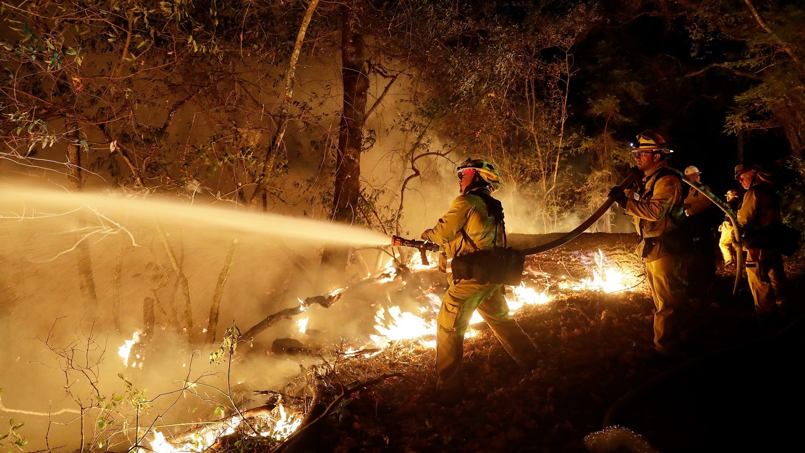Hey, Maybe Don't Fly Drones Where Firefighters Are Trying to Save Lives
