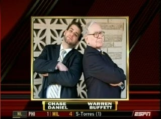 Illustration for article titled College Football Roundup: Chase Daniel and Warren Buffett Are Boyzzz