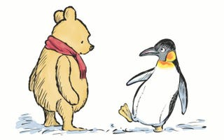 """Illustration for article titled The """"Unknown"""" Life of Pooh's New Pal"""
