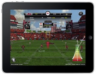 Illustration for article titled Madden NFL 11 Arrives On iPad, iPhone The Same Day As Consoles