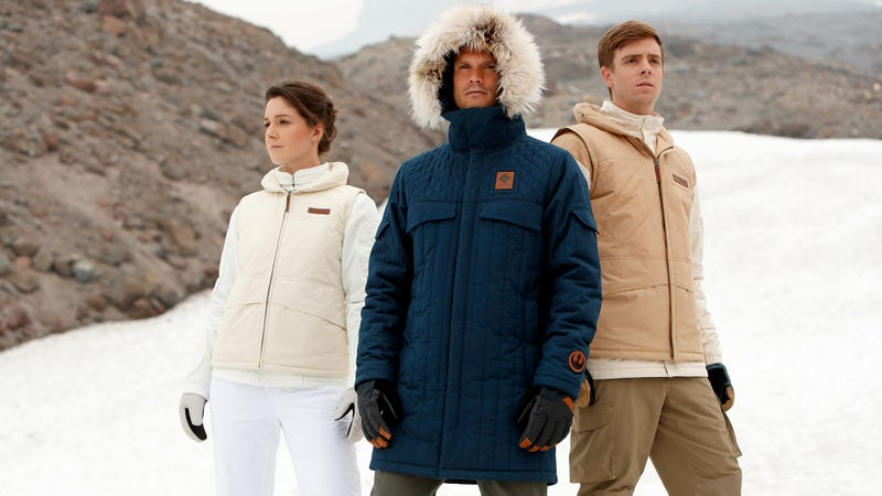 Strike back at cold temps with new Star Wars jackets