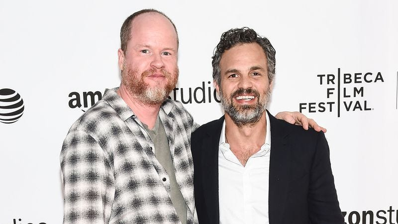 Joss Whedon and Mark Ruffalo (Photo credit: Getty Images)