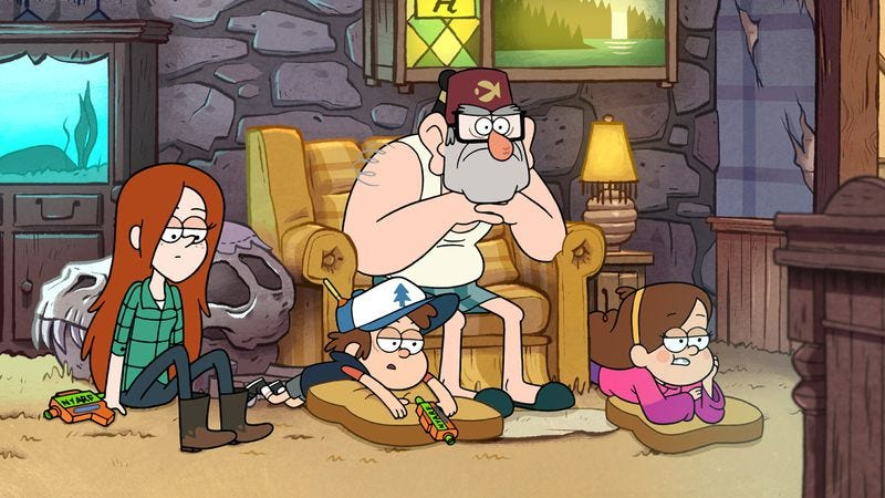 """Illustration for article titled Gravity Falls: """"Dreamscaperers"""""""