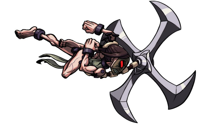 Illustration for article titled Painwheel, Painwheel, Spinning Around, Skullgirls' Latest Fighter is a Spinning Tortured Soul