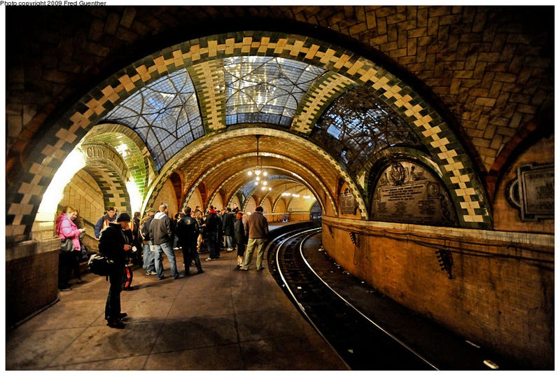 Illustration for article titled New York Subway City Hall Station: Photos