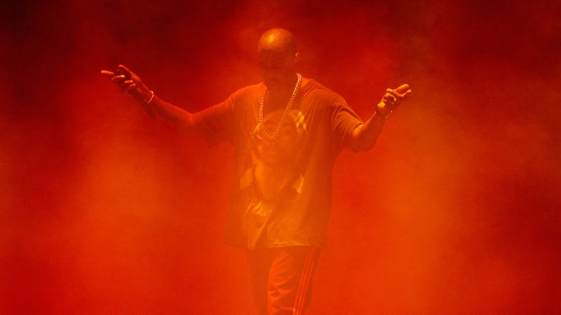 "Kanye releases new song where he literally just raps ""whoopdedy-scoop-poop-poop"""