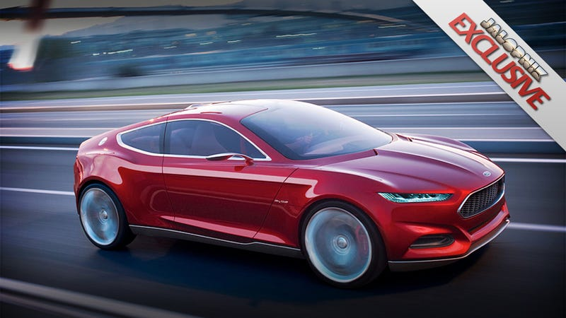 """Illustration for article titled Next Ford Fusion Hybrid will be a plug-in called """"Energi"""""""