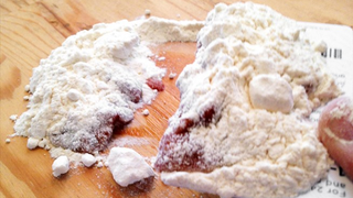 Illustration for article titled Easily Clean Up Big Liquid Spills with Flour