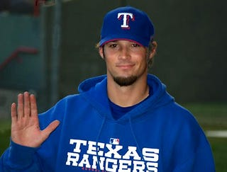 "Illustration for article titled C.J. Wilson Says The Rangers Need To Make Him ""Feel Special"""