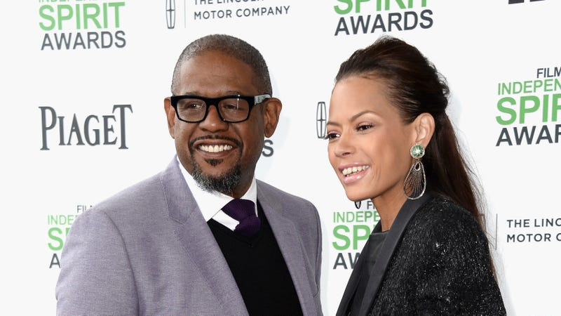 Actor/filmmaker Forest Whitaker (L) and Keisha Nash Whitaker attend the 2014 Film Independent Spirit Awards on March 1, 2014 in Santa Monica, California.