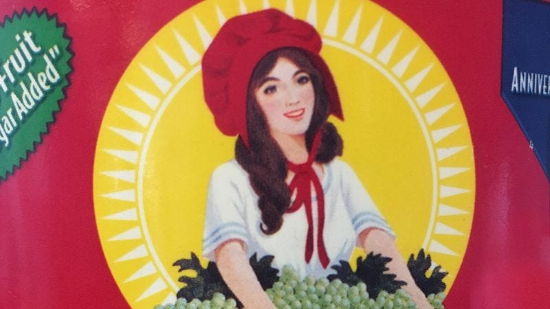Illustration for article titled A New Era: Sun-Maid Raisins Has Announced That The Girl On Its Box Will Begin Aging!