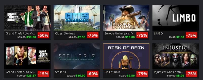 Million Sellers Sale | Green Man Gaming