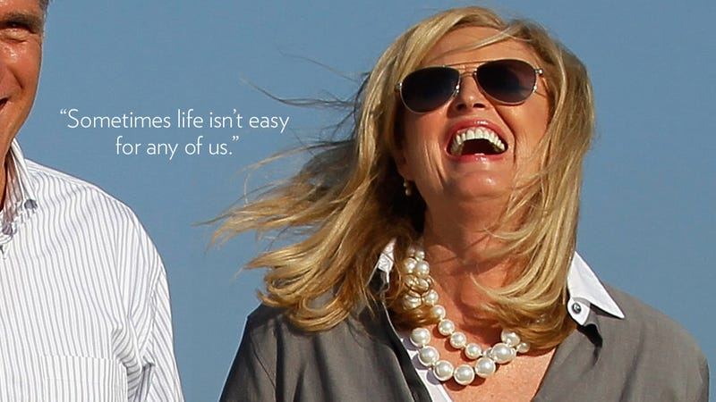 Illustration for article titled The Five Most Ridiculous Quotes From Ann Romney