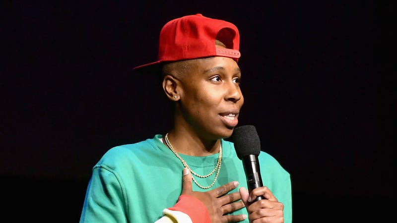 Lena Waithe speaks onstage at CinemaCon 2019 Universal Pictures Invites You to a Special Presentation Featuring Footage from its Upcoming Slate on April 3, 2019 in Las Vegas, Nevada.