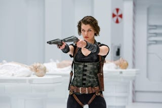"Illustration for article titled ""Resident Evil: Afterlife"" is the clone baby of ""The Matrix"" and ""Blade II"""