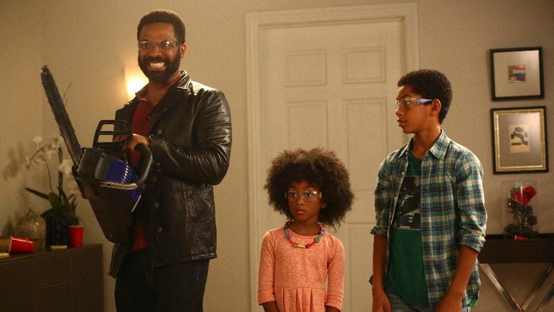 Mike Epps, Aalyrah Caldwell, Sayeed Shahidi (Photo: Michael Ansell/ABC)