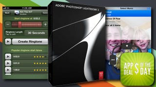 Illustration for article titled Daily App Deals: Adobe Photoshop Lightroom 3 for 50% Off Today Only