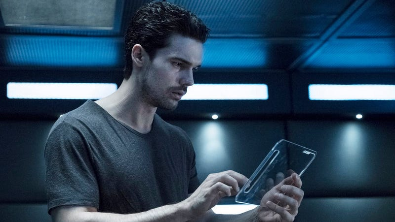 Holden (Steven Strait) is losing his mind a little... or is he?