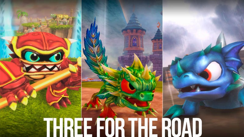Illustration for article titled The Skylanders: Spyro's Adventure Cycle is Complete