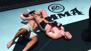 """Illustration for article titled EA's MMA Gets It On With """"Premier League"""" Strikeforce"""