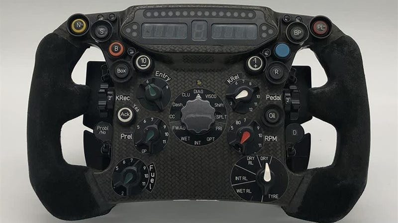 This Formula One Steering Wheel Is an Absolute Steal at $11,295
