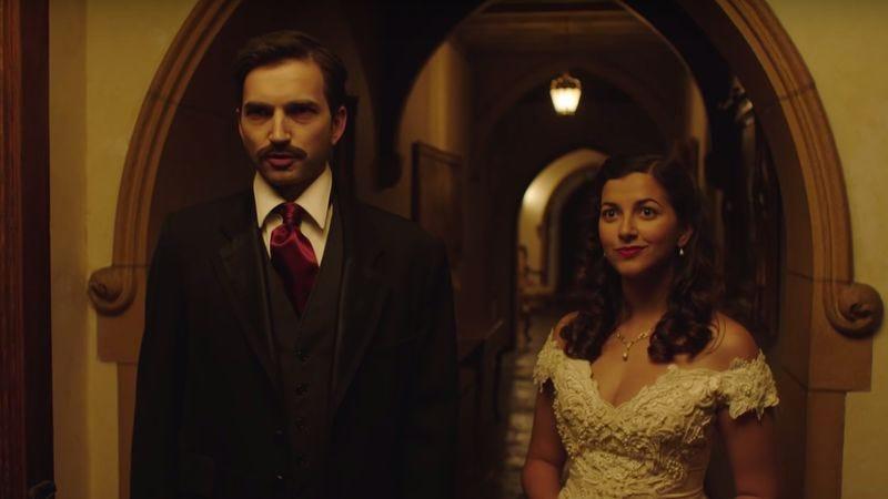Screenshot: Edgar Allan Poe's Murder Mystery Dinner Party/YouTube