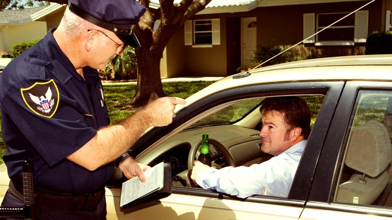 "Illustration for article titled ""Why Are You Pulling Me Over?"" and Other Things You Shouldn't Say to a Police Officer"